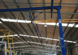 Machinery For Sale – Gorbel® Ceiling Mounted Bridge Crane