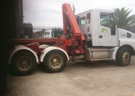 Machinery For Sale – PRICE REDUCED – Crane Truck