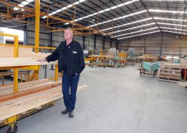 Timber Shortage a Barrier
