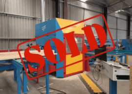 SOLD – Hundegger Speed Cut SC-1 Servo Linear Saw